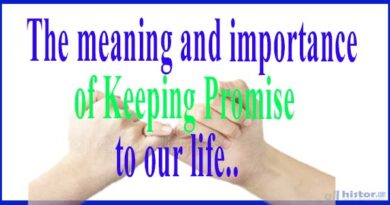 The meaning and importance of Keeping Promise to our life